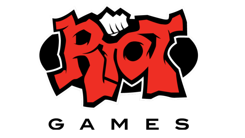 Riot games logo png. Assets text black