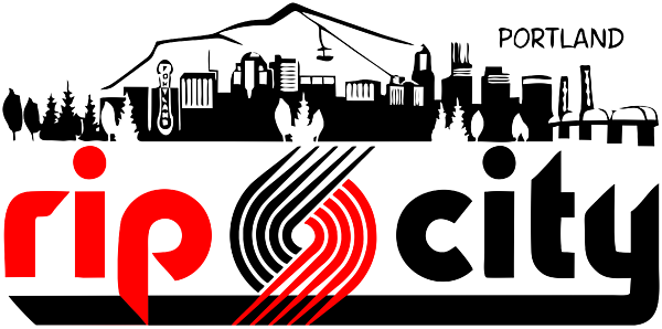 Rip city logo png. Greeting card for sale