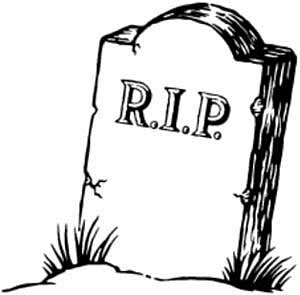 Rip clipart gravestone. Tombstone drawing at getdrawings
