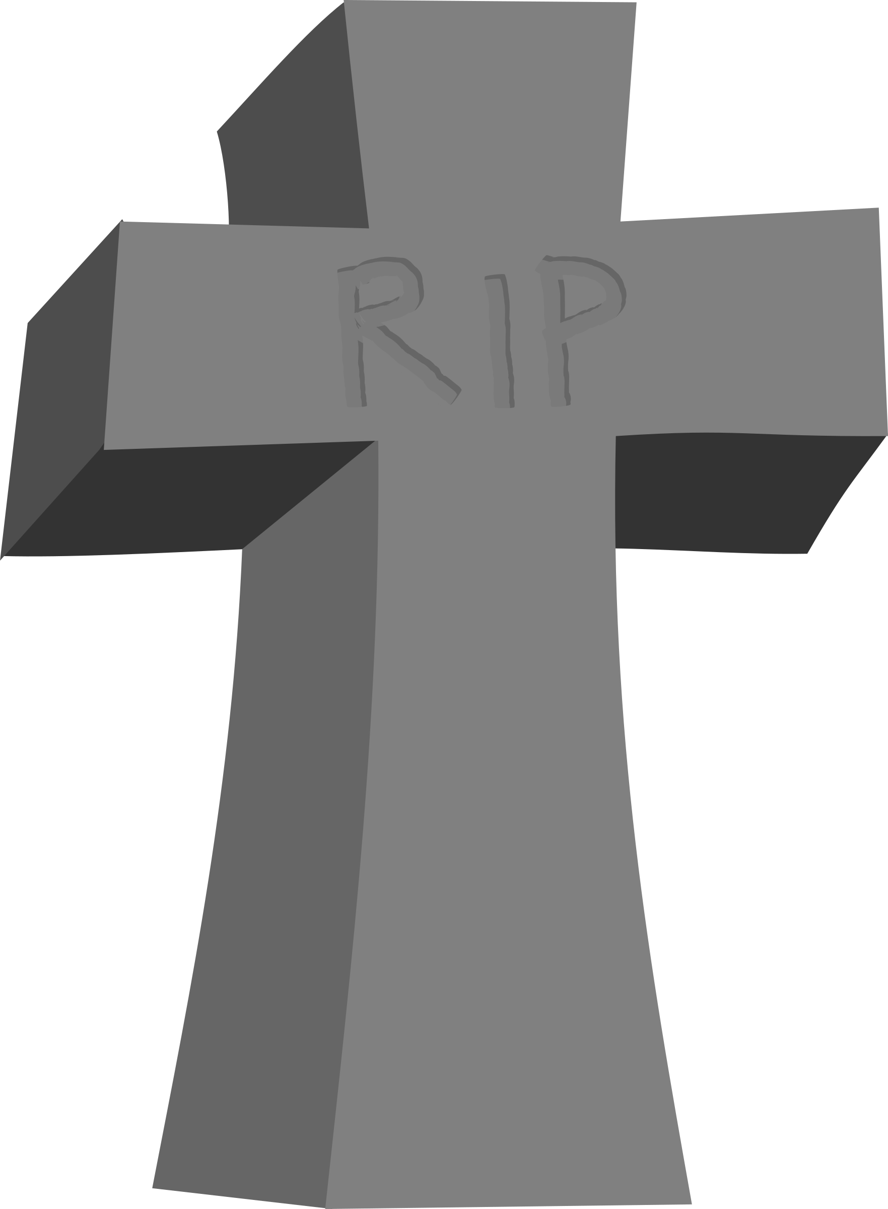 Rip clipart vector. Tombstone big image png