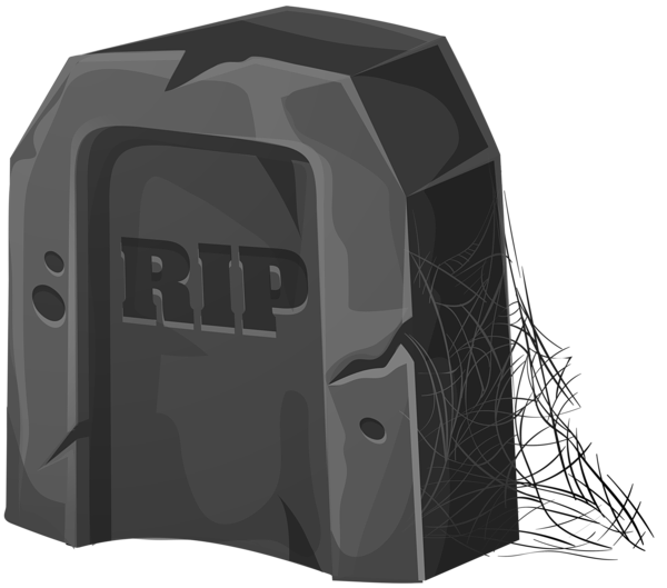 Rip clipart vector. Halloween coffin black and