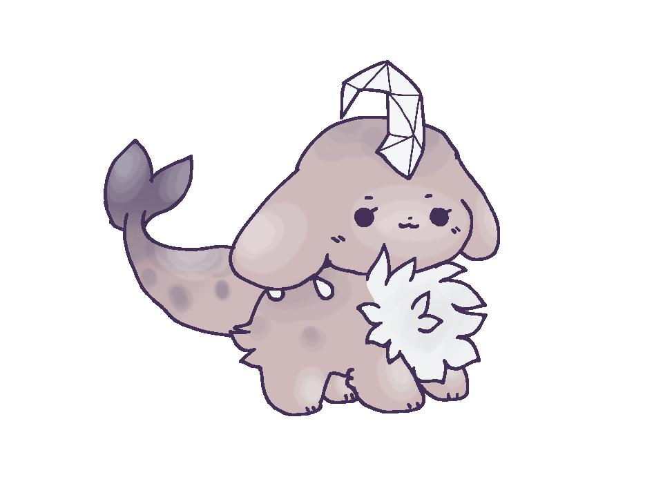 Rip drawing animal. Chibi comm by lonely