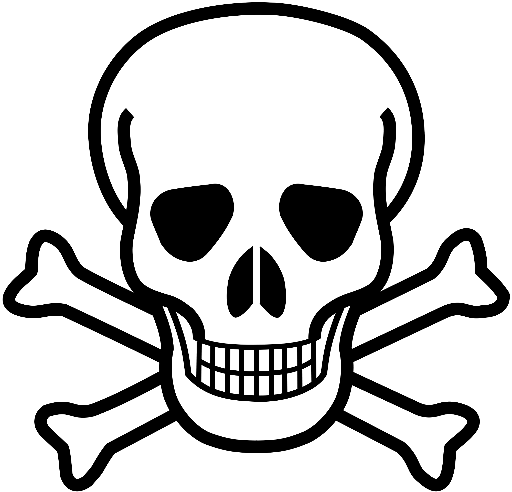 Rip drawing skull. Poison and crossbones free