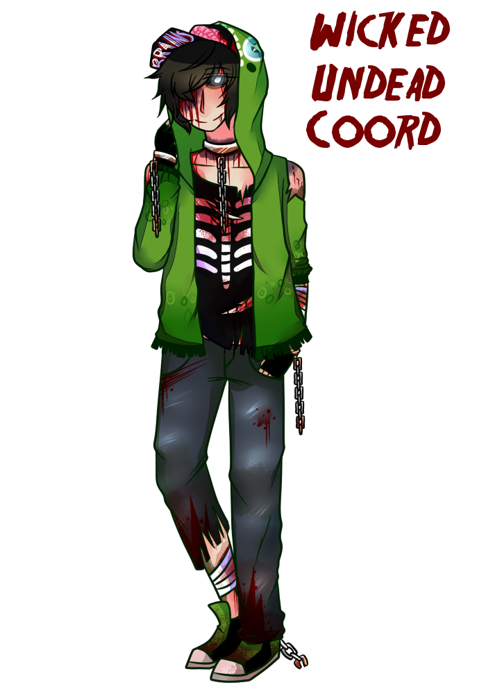 Rip drawing wicked. Mra undead coord by