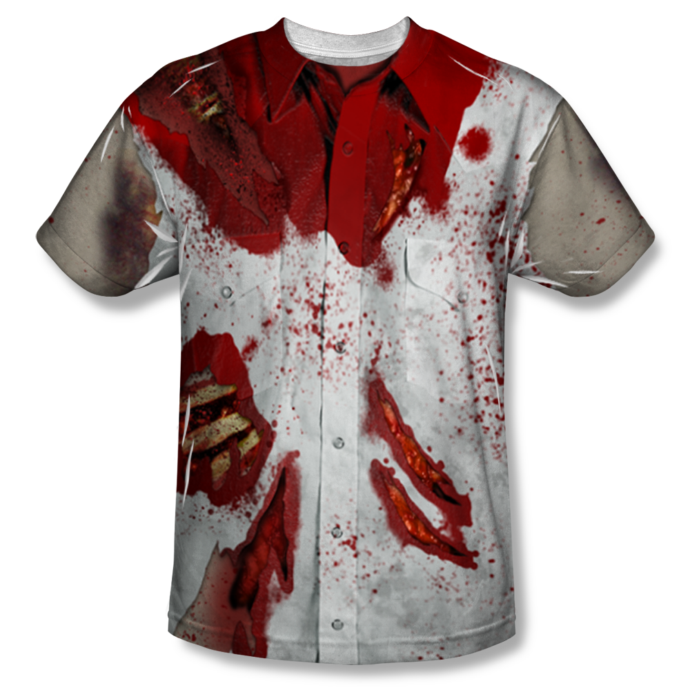 Torn tshirt png. Ripped up zombie all