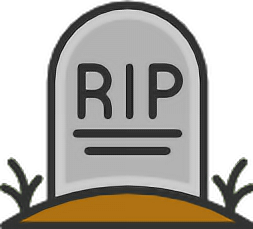 Rip tombstone png. Emoji halloween sticker by