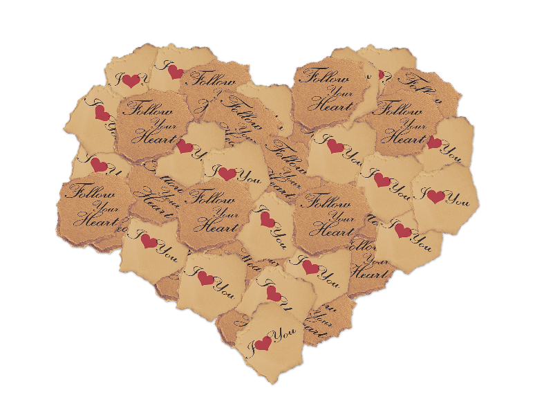 Ripped hole png. Torn paper heart stock