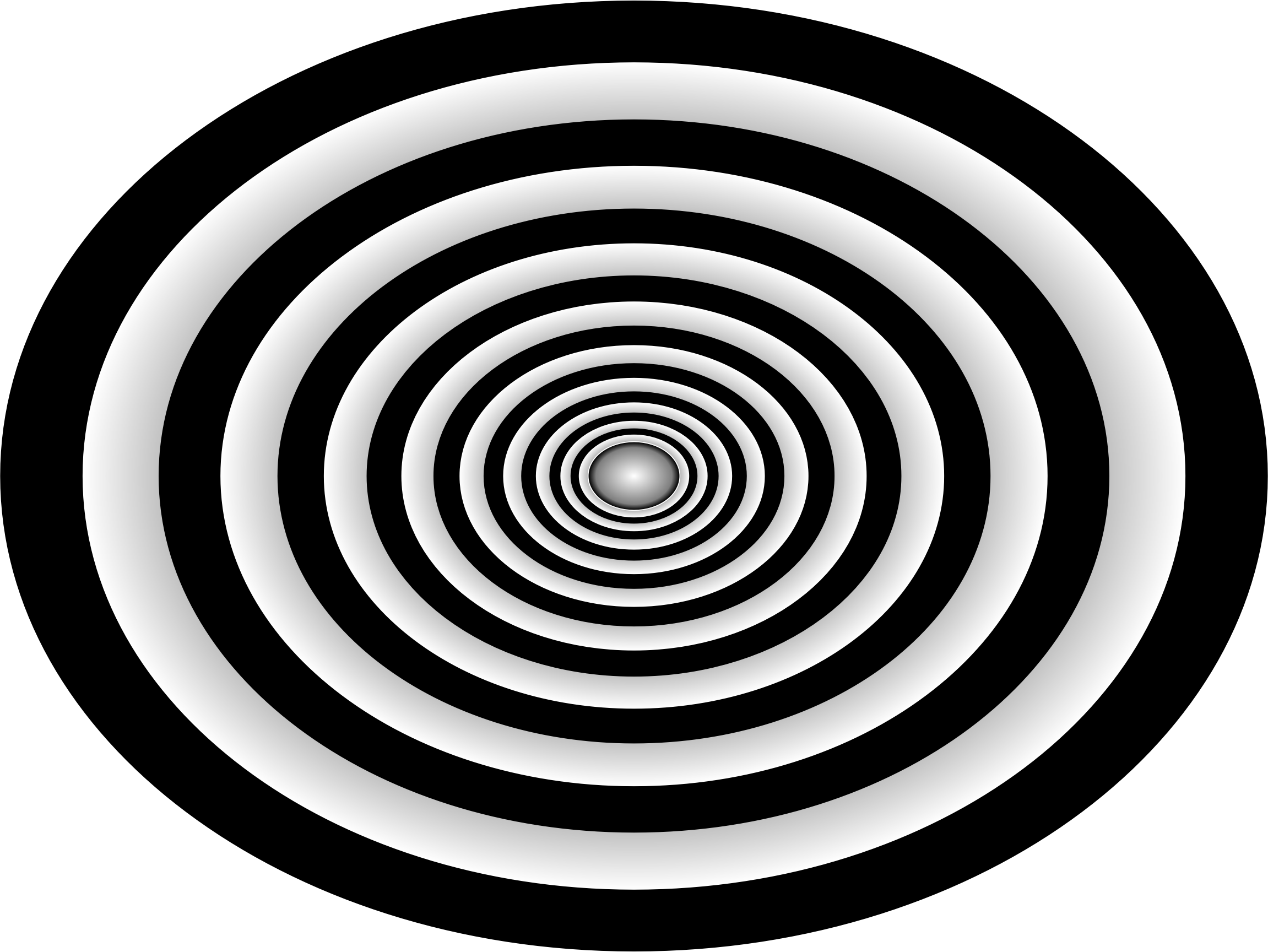 Ripples drawing spiral. Clipart time tunnel big