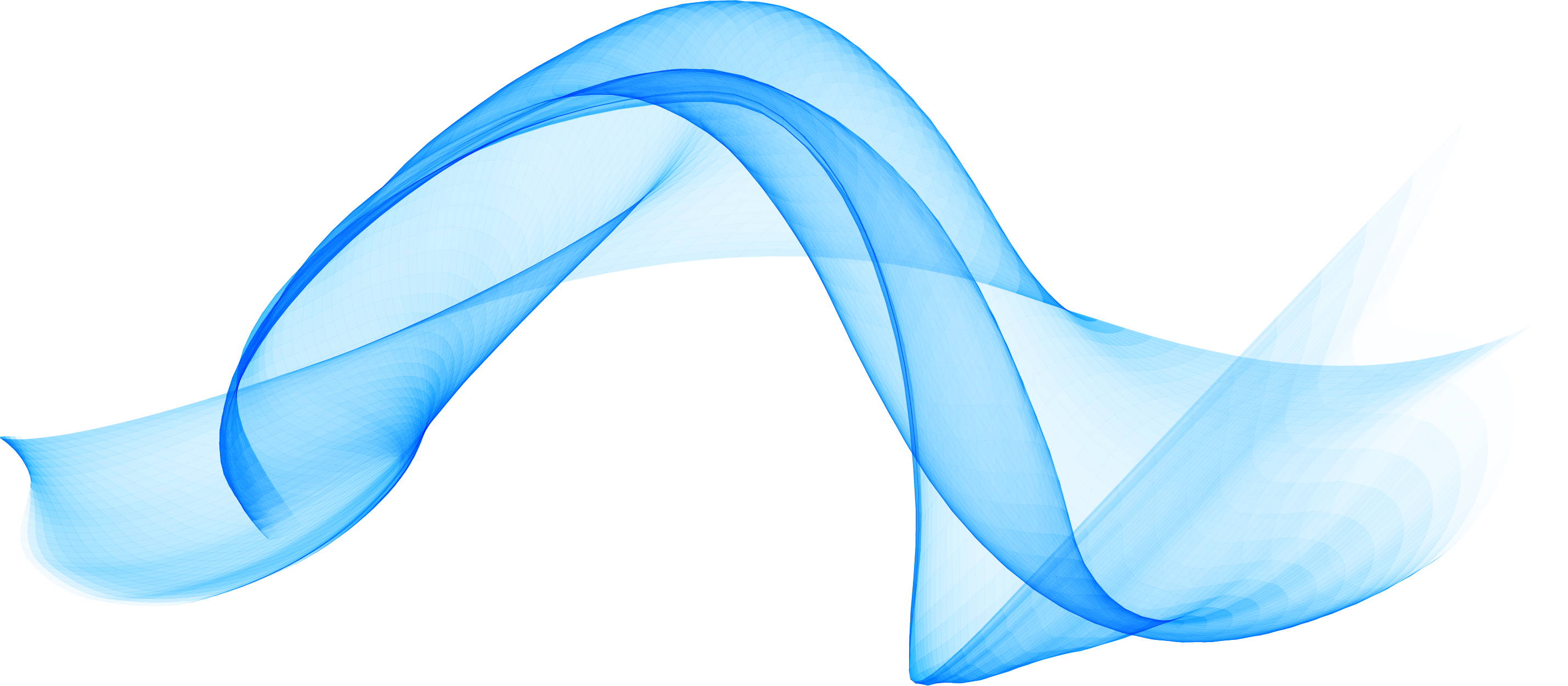 Ripples vector. Blue wave computer file