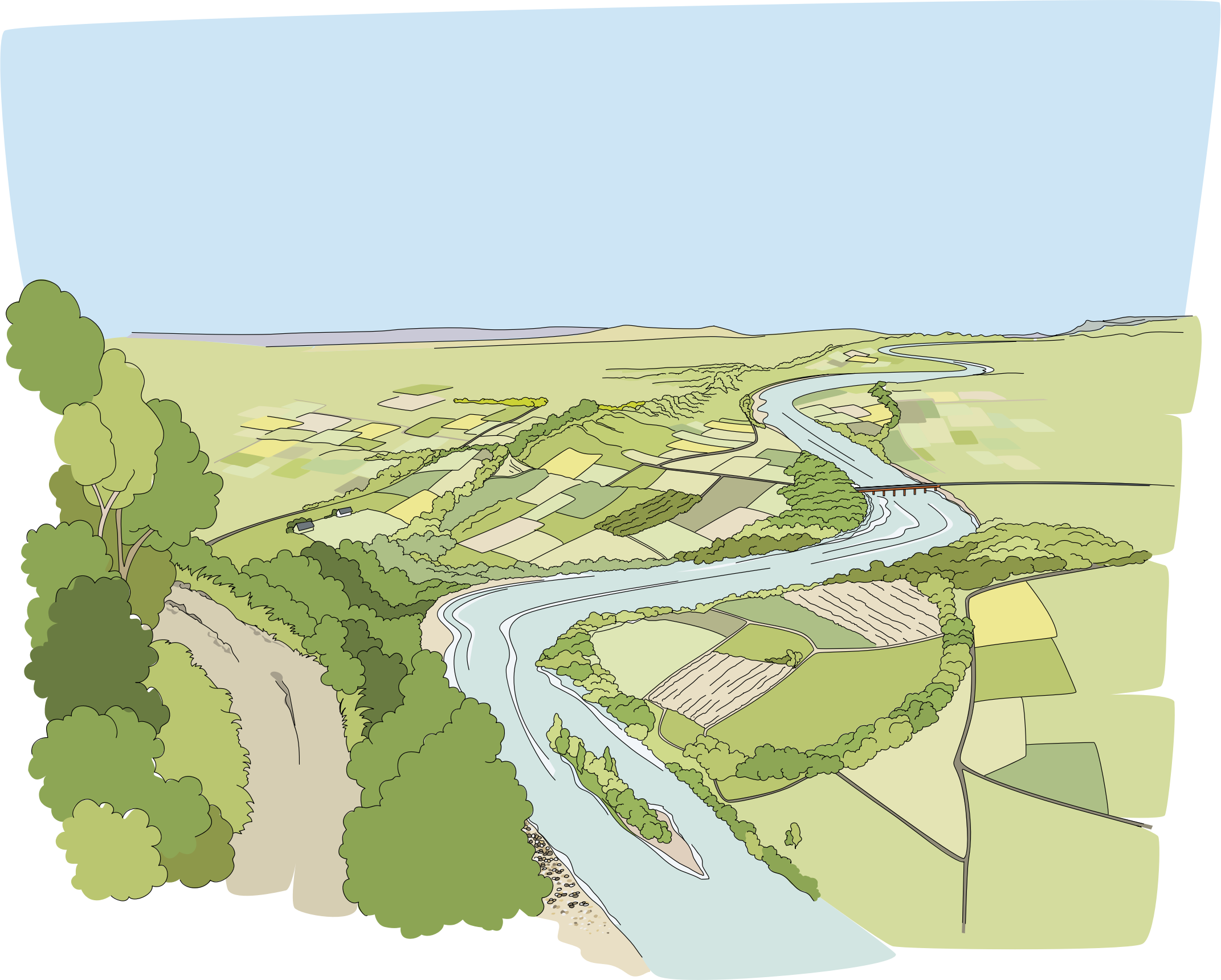 River clipart riviere. Big image png