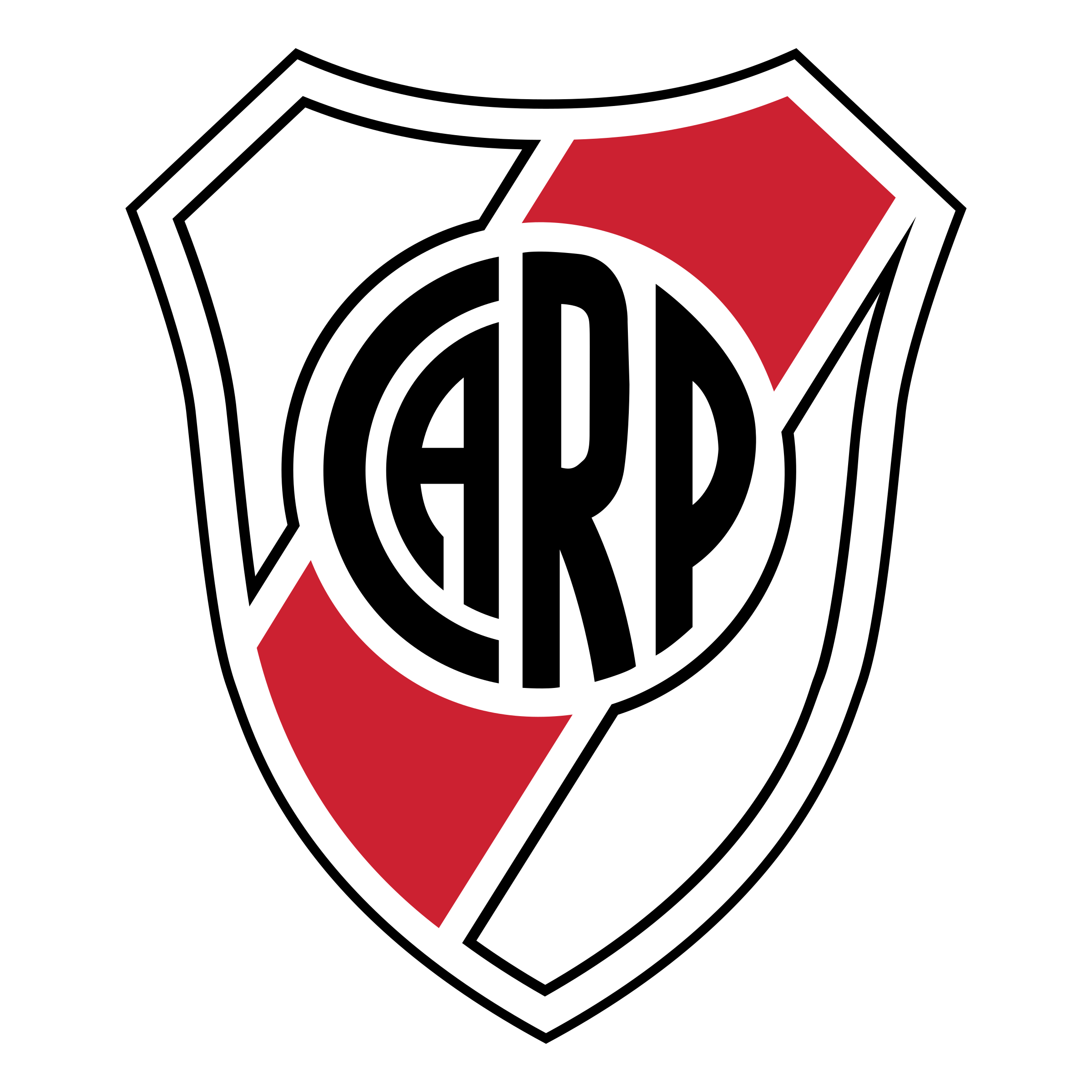 Club vector modern. Atletico river plate logo