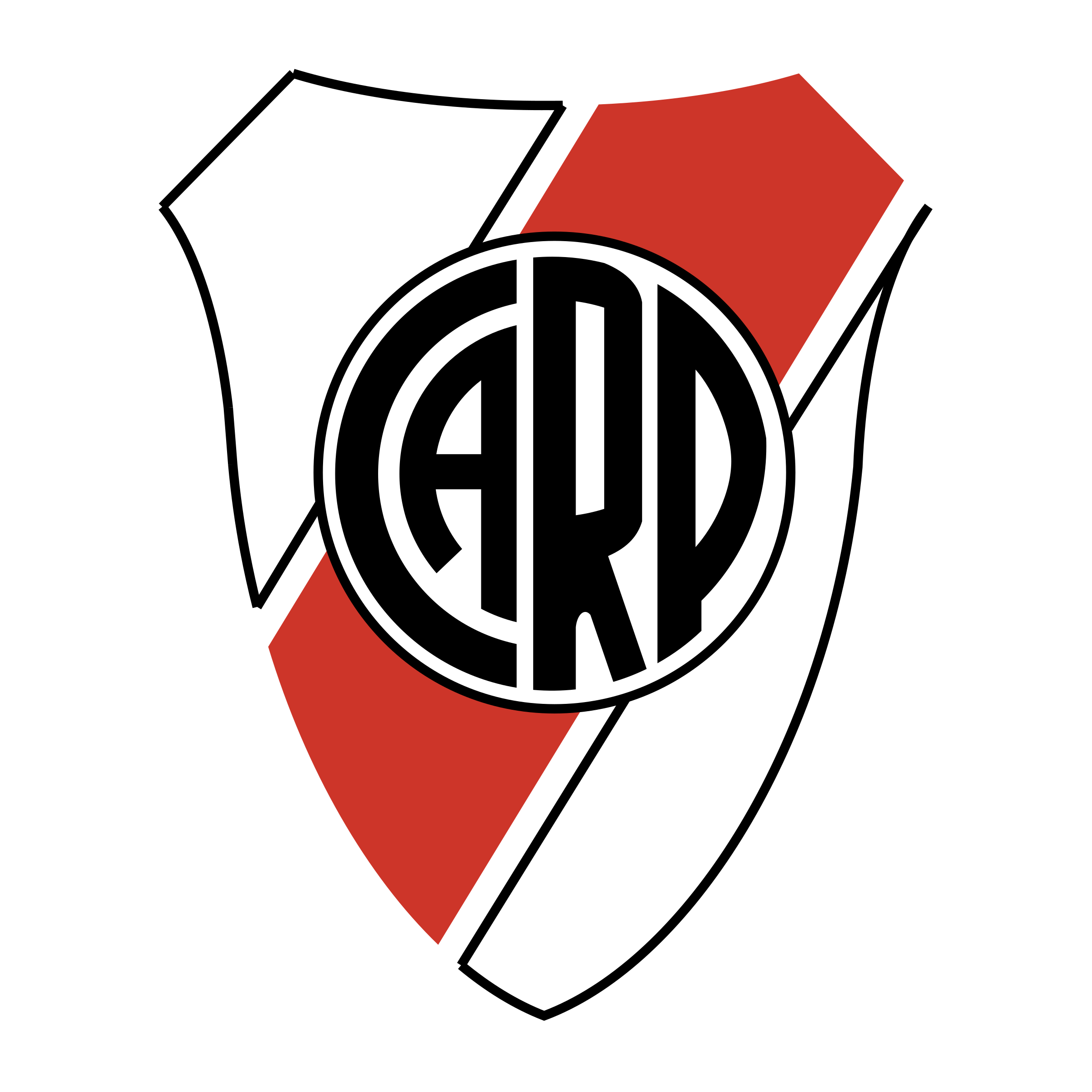 River plate png. Club atletico logo transparent