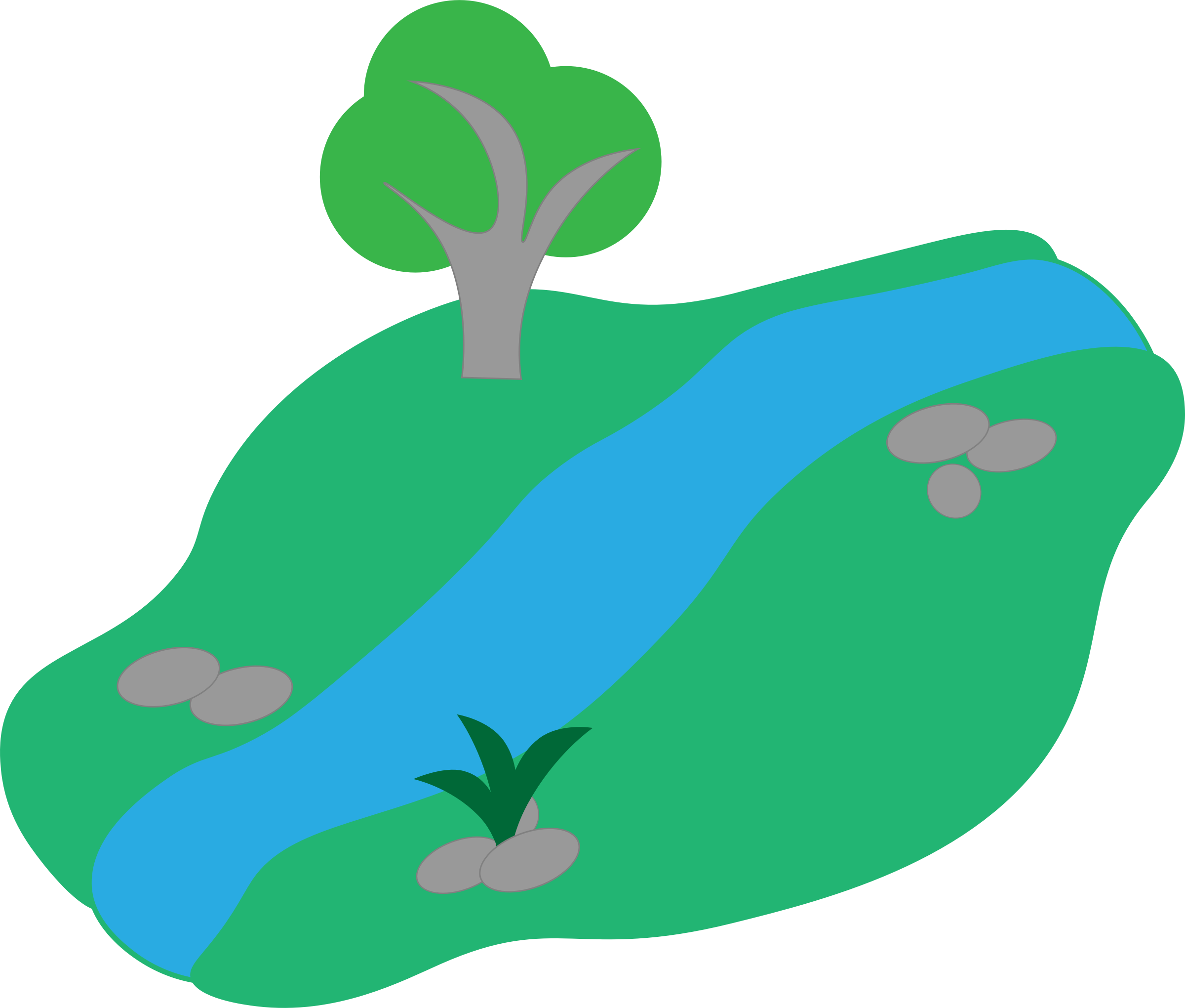 River stream png. Clipart basic with tree