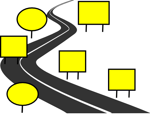 Road clipart journey. Path