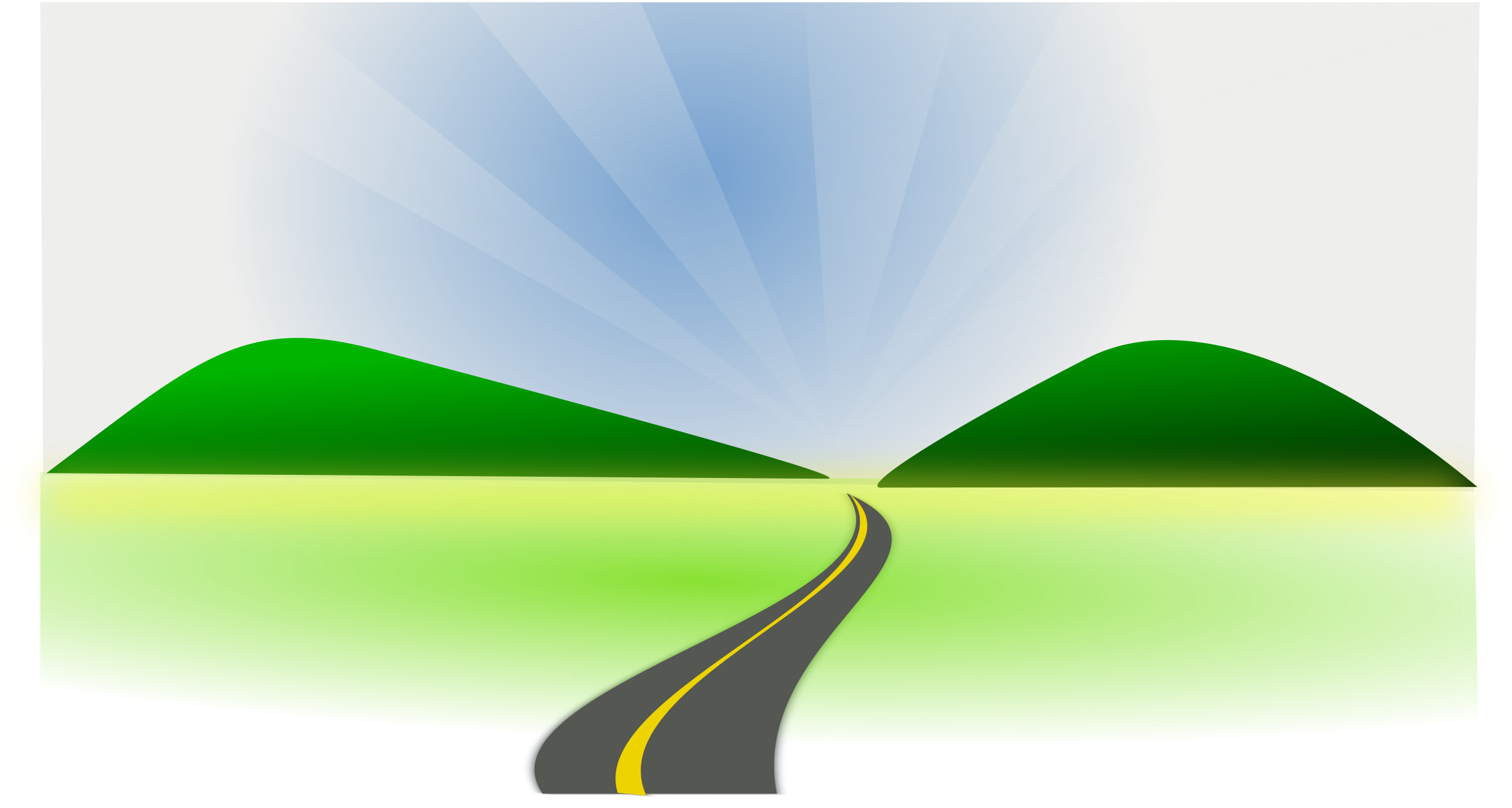 Country landscape png. Road graphic clipart images