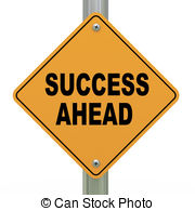 Ahead stock illustrations clip. Road clipart success picture royalty free library