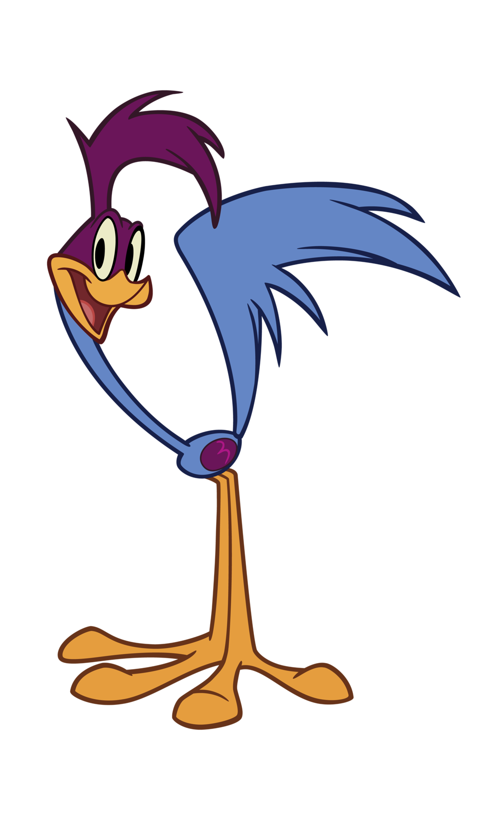 Road runner bird png. Image the new looney