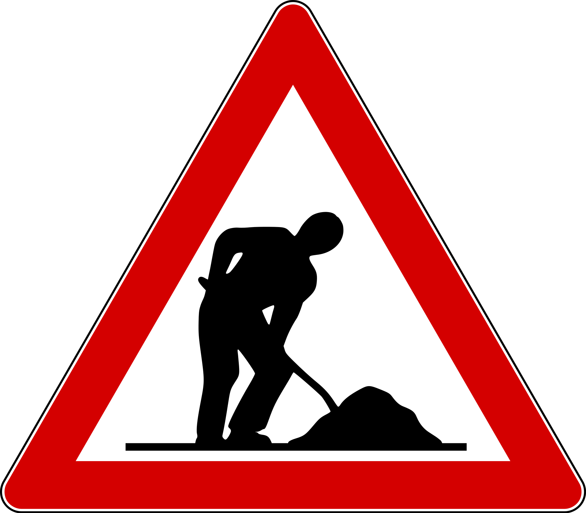 Road signs png. File italian traffic old