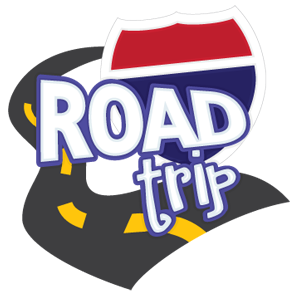 Road svg file. Trip free and lots