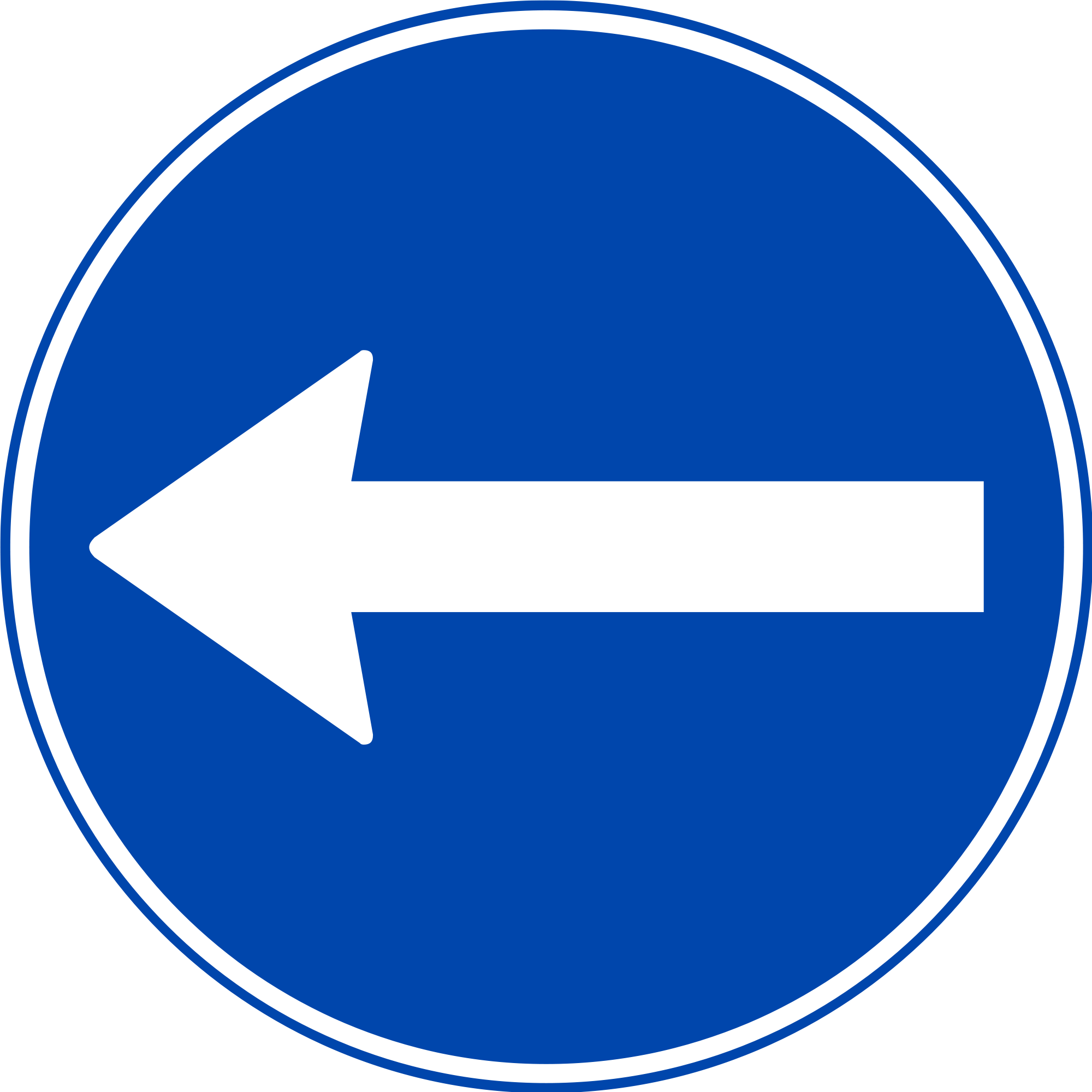 Road svg sign. File norwegian wikimedia commons
