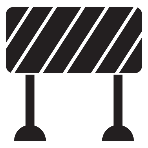 Road svg transparent. Block sign icon png