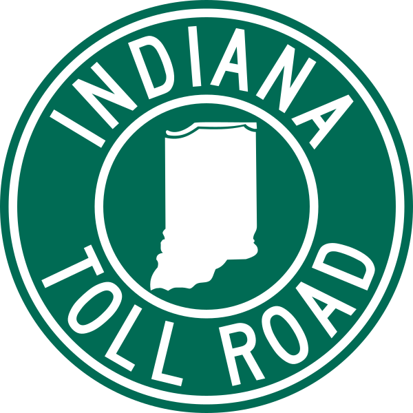 Road svg transparent. File indiana toll wikipedia