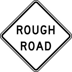 White clipart road. Signs clip art rough