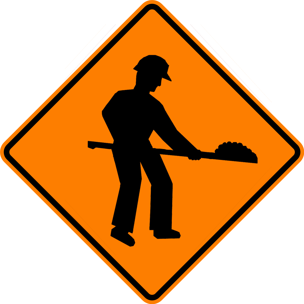Roadsign vector construction. File thai road sign