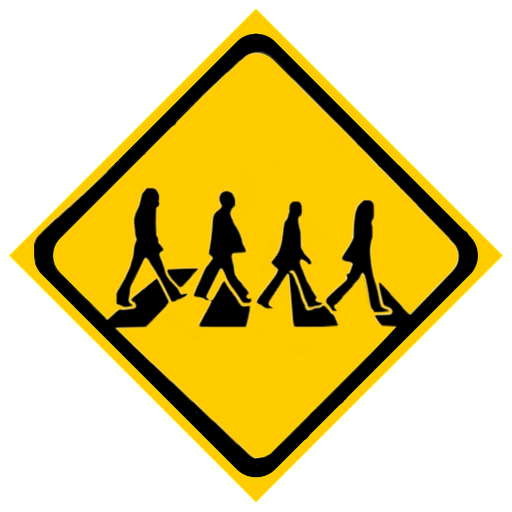 Roadsign vector construction. A road sign telling