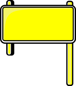 Vector ohio blank. Highway sign clip art
