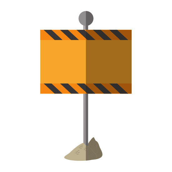 Roadsign vector road design. Sign icon icons by