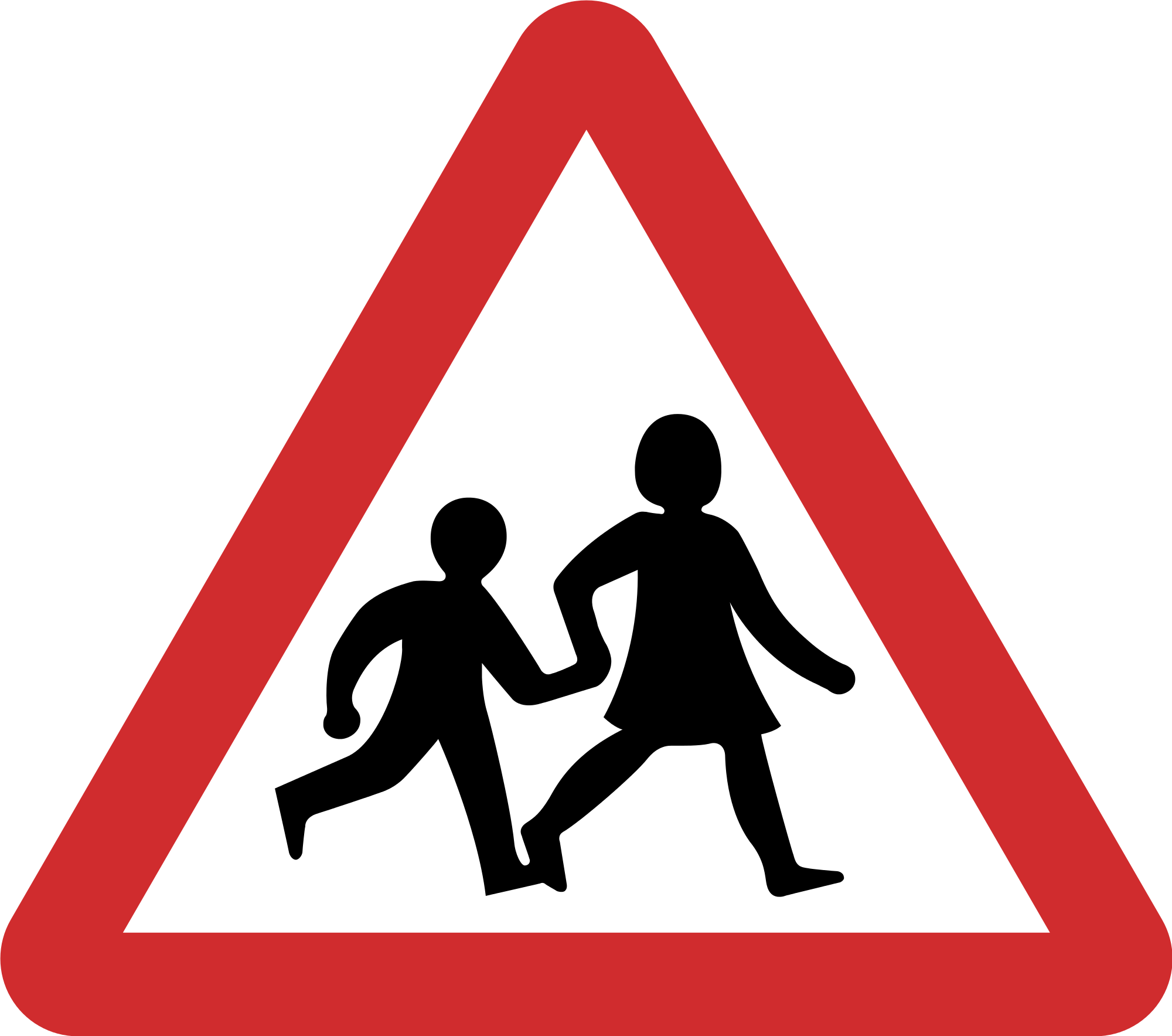 Roadsign vector silhouette. File nepal road sign