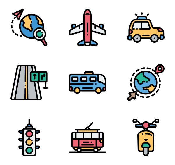 Roadsign vector traffic. Road sign icons free