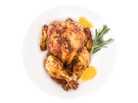 Roasted chicken png. Italian pusateri s