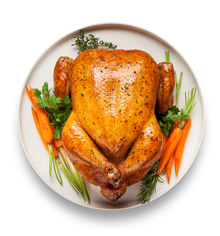 Roasted chicken png