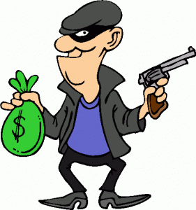 Robber clipart.