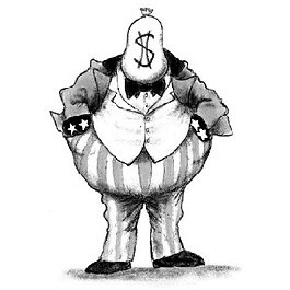 Robber clipart robber baron. Meanderthals interior department s