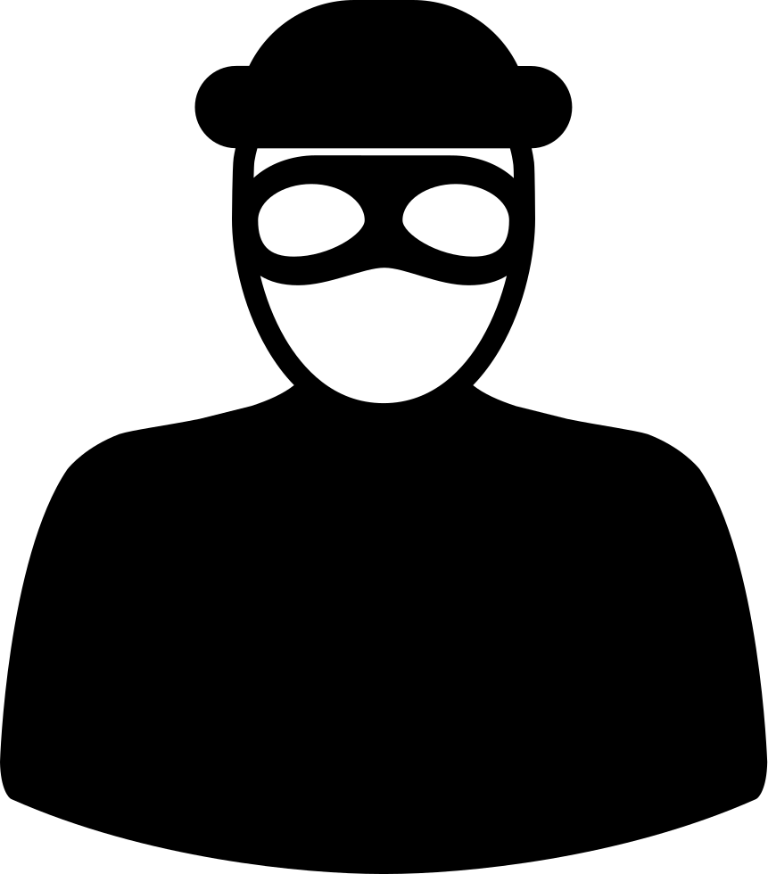 Robber mask png. Unrecognizable with eyes svg