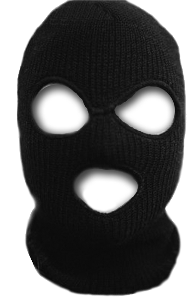 Balaclava stock photography drawing. Robber mask png clipart library stock