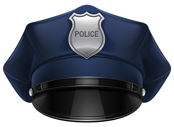 Robber mask png. Police hat clipart occupation
