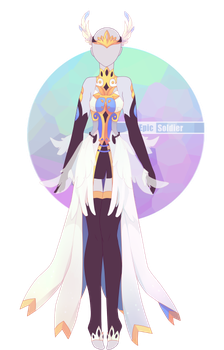 Robes drawing angel. Outfit adoptable cloed by