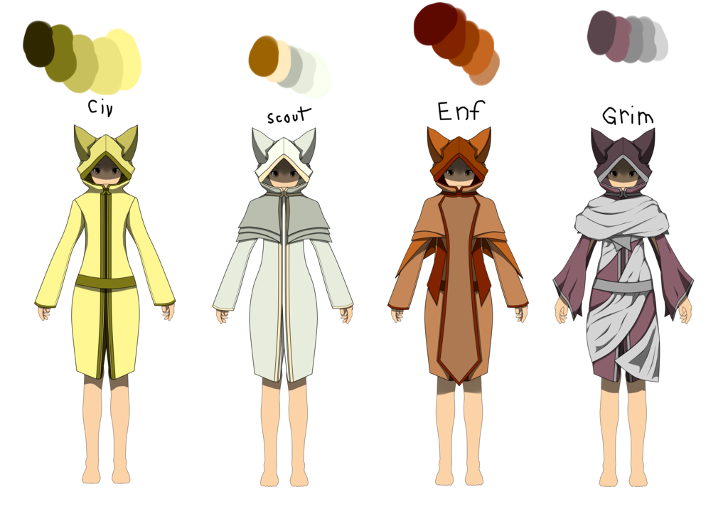 Robes drawing anime. Rwby oc vacuous tribal
