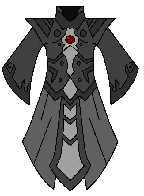 Robes drawing cloak. Death mage by neonblacklightth