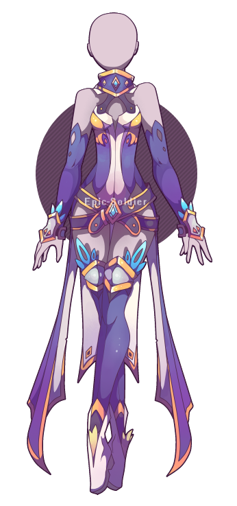 Bard drawing sci fi. Outfit adoptable closed by