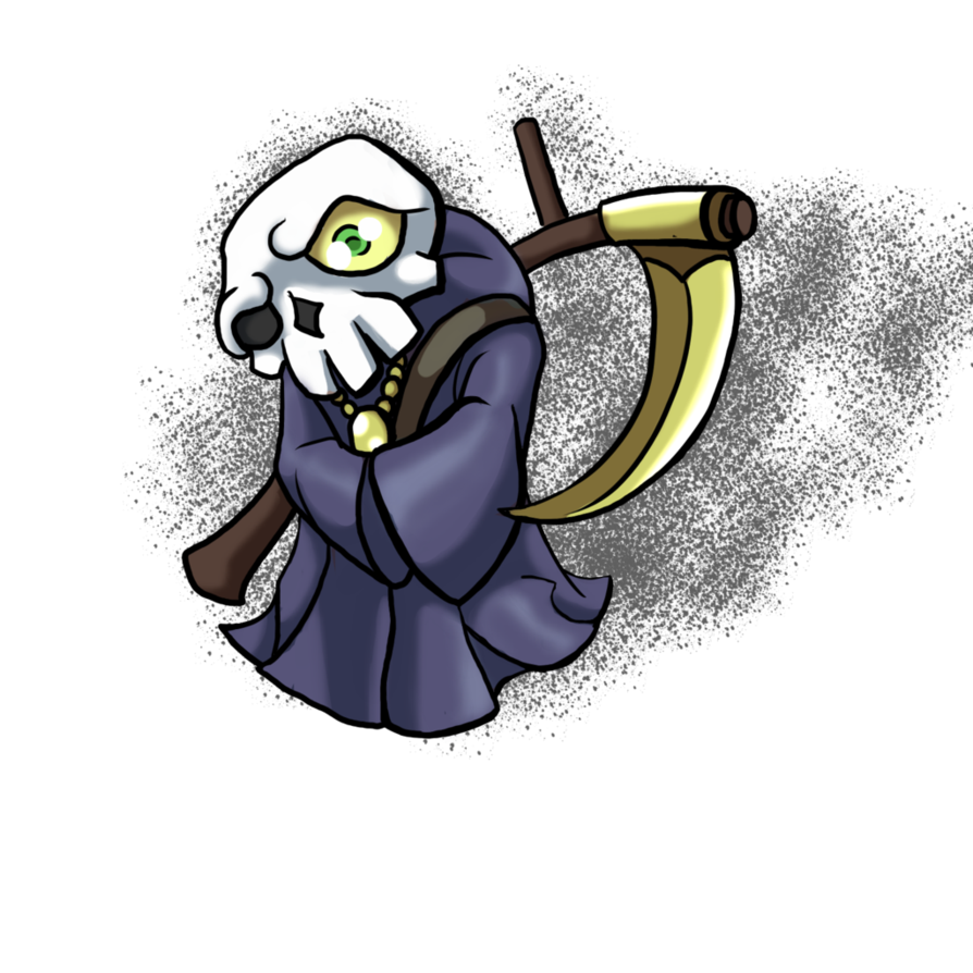 Robes drawing guy. Reaper by trelock on
