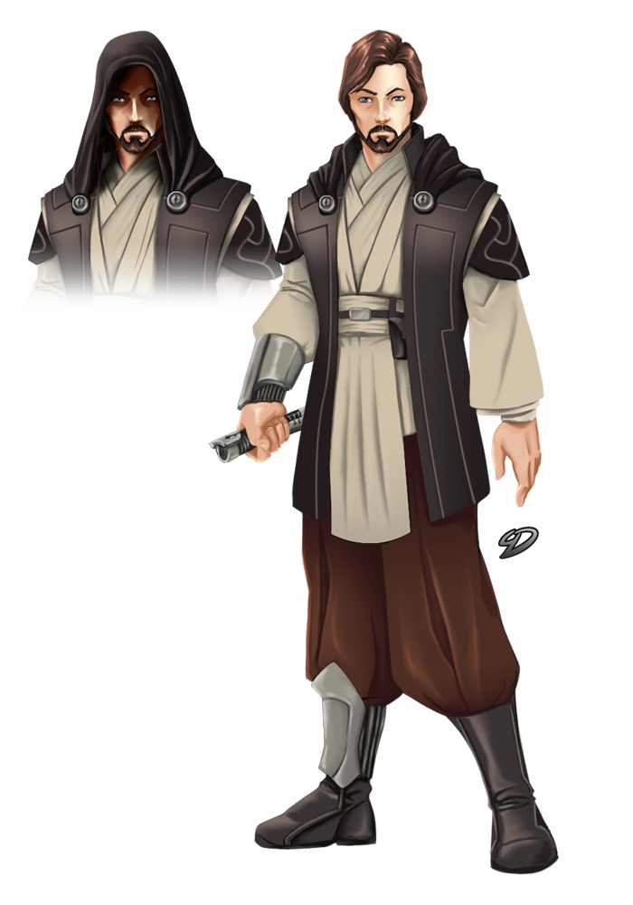 Jedi vector knight. By yulaydevlet on deviantart