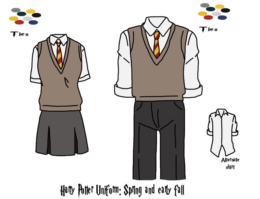 Robes drawing ravenclaw. Collection of harry