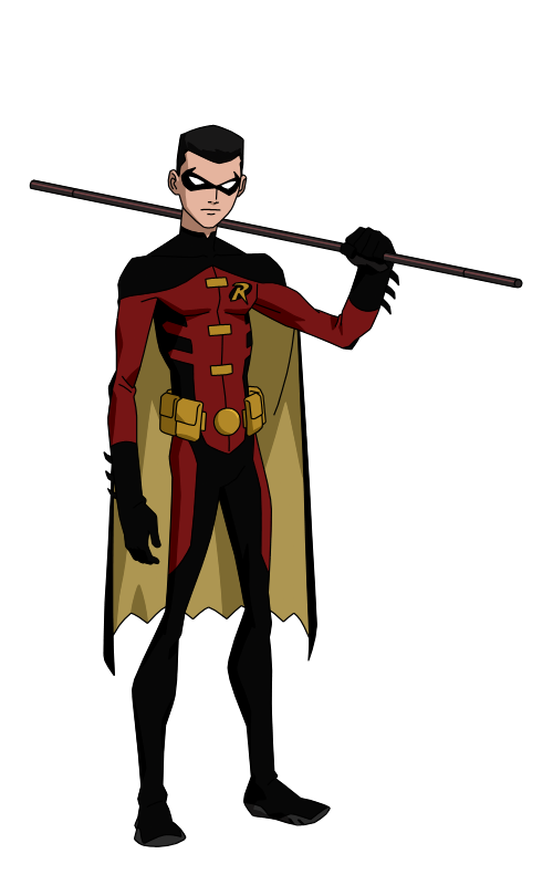 Robin comic png. Superhero transparent images all