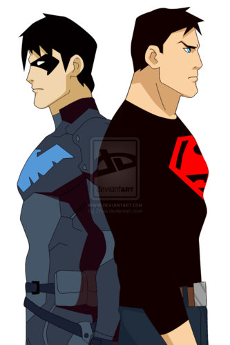 Robin png young justice. Images superboy and nightwing