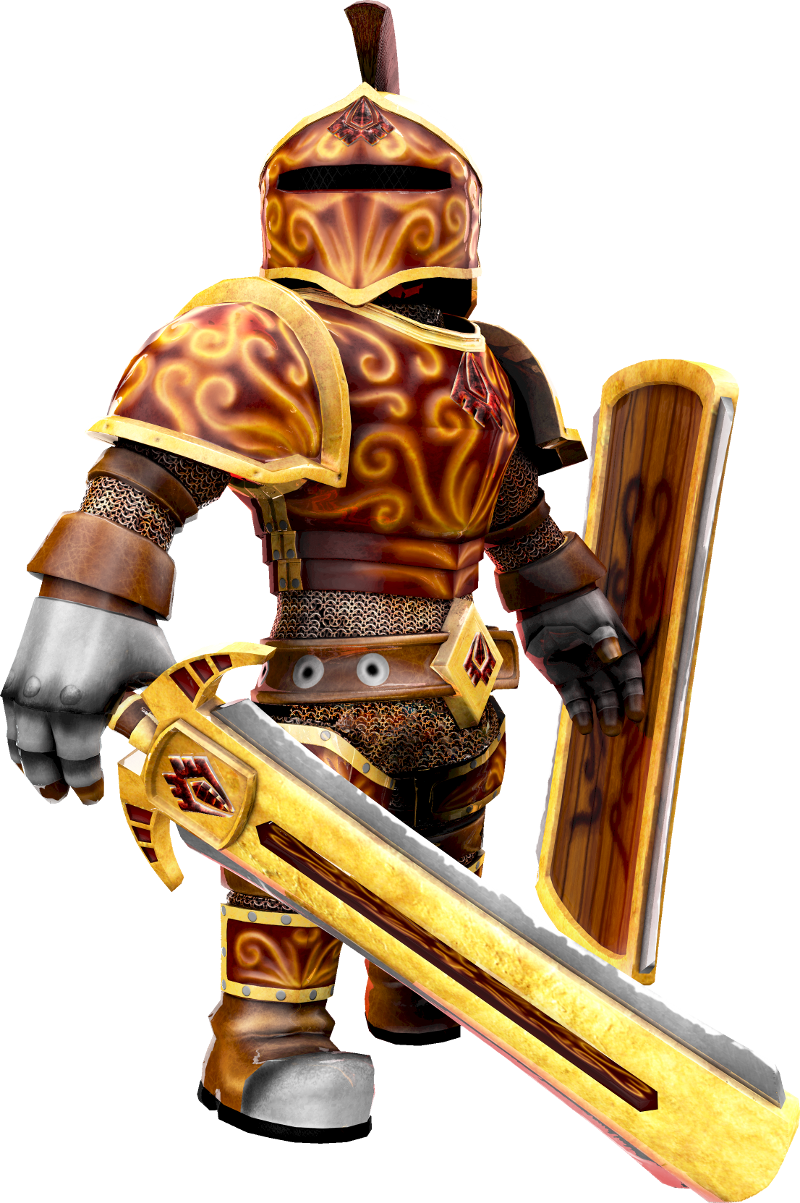 Image roblox character knight